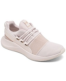 Women's Charged Breathe Metallic Sport Style Running Sneakers from Finish Line