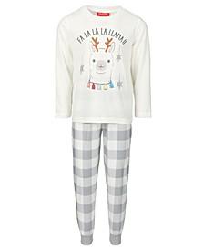 Matching Kids Holiday Llama Family Pajama Set, Created for Macy's