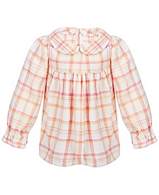 Toddler Girls Plaid Top, Created for Macy's