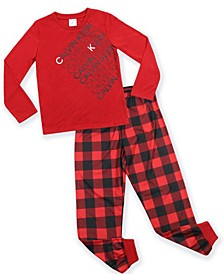 Big Boys 2-Piece Pajama Set