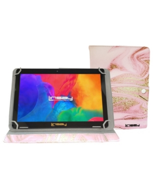 Linsay Android 10 Tablet with Glaze Marble Case
