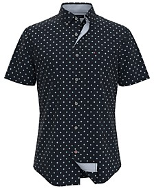 Men's Fairweather Custom-Fit Medallion-Print Shirt