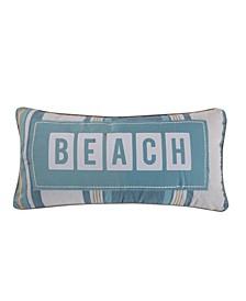 """Kailua Beach Pillow, 12"""" x 14"""""""