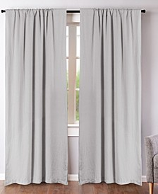 """Washed Linen 50"""" x 84"""" Curtain Set"""