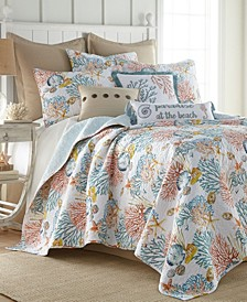 Bay Islands Quilt Set, Full/Queen
