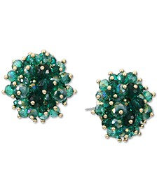INC Gold-Tone Shaky Bead Cluster Stud Earrings, Created for Macy's