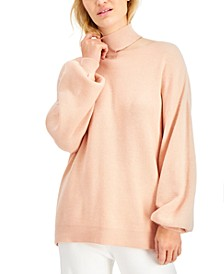 Cutout Mock-Neck Sweater