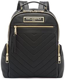 Karl Lagerfeld Chevron Backpack