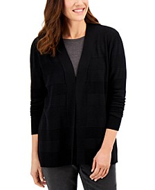 Pointelle Cardigan Sweater, Created for Macy's