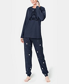 Sleepy Dog Ultra Soft Women's Pajama Set