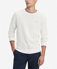 Men's Johan Regular-Fit Tipped Sweater