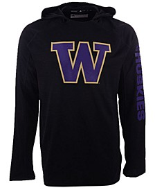 Washington Huskies Men's Game Mode Training Long Sleeve Hooded T-Shirt
