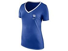 Kentucky Wildcats Women's Tri-blend Ribbed Neck T-Shirt