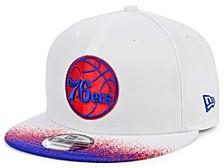 Philadelphia 76ers Summer Splatter Snapback Cap