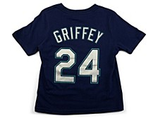 Seattle Mariners Ken Griffey Jr. Toddler Name and Number Player T-Shirt