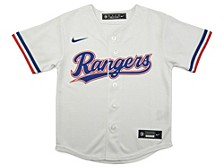 Youth Texas Rangers Official Blank Jersey