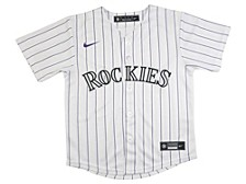 Youth Colorado Rockies Official Blank Jersey