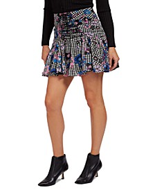 Lubia Printed Mini Skirt