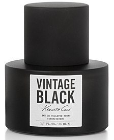 Men's Vintage Black Eau de Toilette Spray, 1.7-oz.