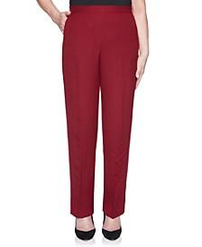 Petite Madison Avenue Signature Short Pants