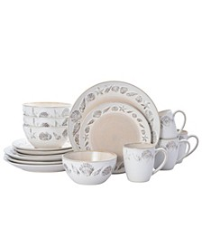 panama 16 pc dinnerware set, service for 4