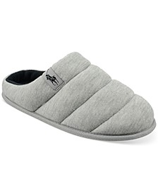Men's Emery Quilted Clog Slippers