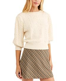 Villa Cable Pullover Sweater