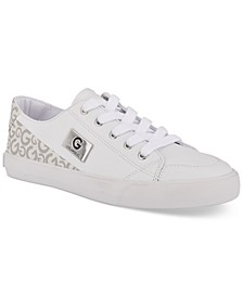 Women's Meric Round Toe Low Top Sneaker
