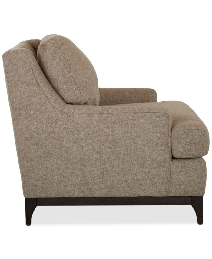 """Furniture Skylee 41"""" Fabric Chair, Created for Macy's & Reviews - Furniture - Macy's"""