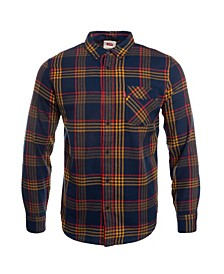Men's One Pocket Flannel Shirt