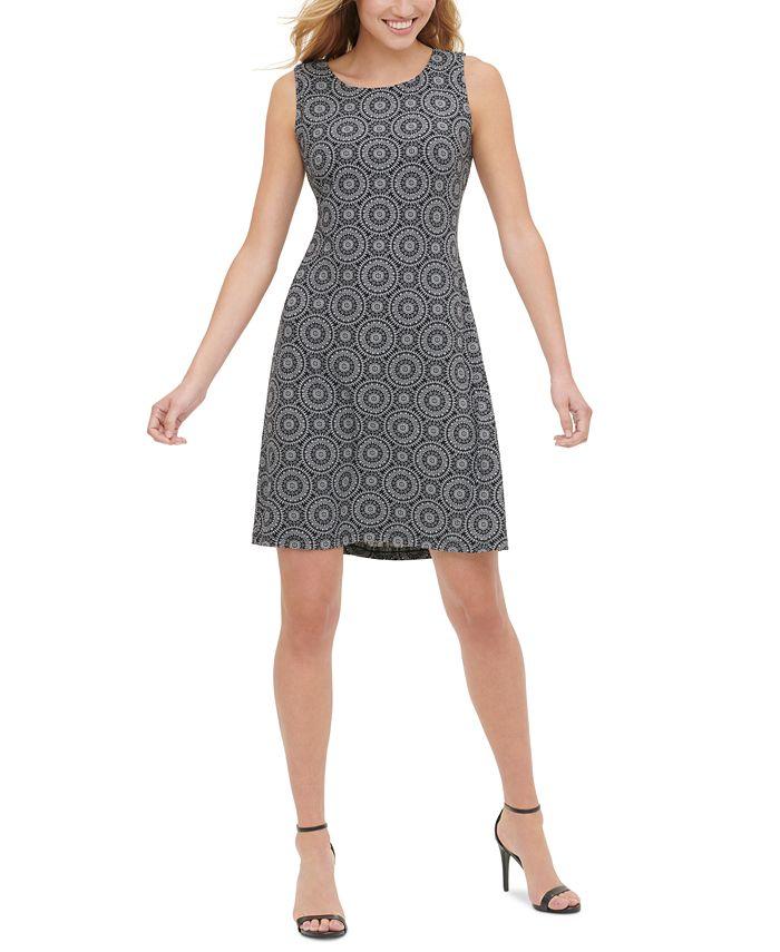 Tommy Hilfiger - Printed A-Line Dress
