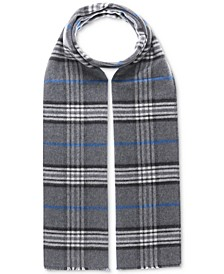 Men's Classic Plaid Reversible Scarf