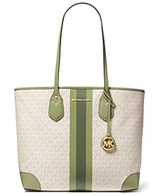 Signature Large Tote