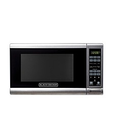 EM720CPY-PM 0.7 Cu. Ft. Digital Microwave, Stainless Steel