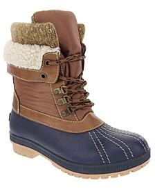 Women's Mitten Winter Mid-Calf Boot