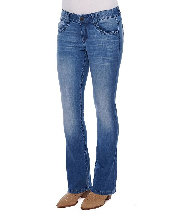 Democracy Women's AB Solution Itty Bitty Boot Jeans