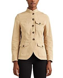 Lauren Ralph Laure Petite Stretch-Cotton Chino Jacket
