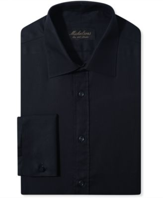 Black fitted dress shirts