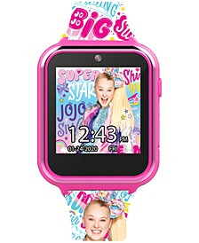 Kid's Jojo Siwa Silicone Strap Smart Watch 46x41mm