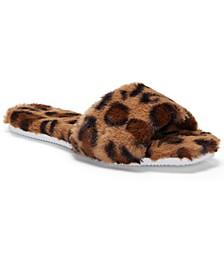 Women's Ampendie Fuzzy Slide Slippers