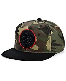 Toronto Raptors Natural Camo Snapback Cap