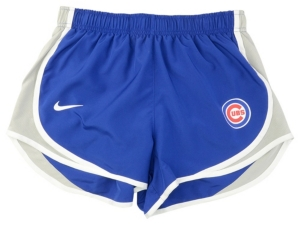 Nike Women's Chicago Cubs Dri-Fit Tempo Shorts