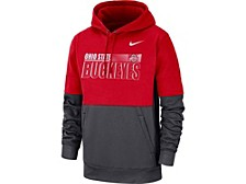 Ohio State Buckeyes Men's Therma Colorblock Hooded Sweatshirt