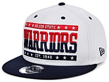 Golden State Warriors All United 9FIFTY Snapback Cap