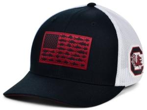 South Carolina Gamecocks Pfg Fish Flag Stretch-fitted Cap