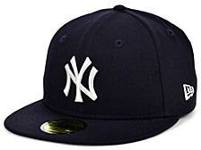 New York Yankees 100th Patch 59FIFTY Cap