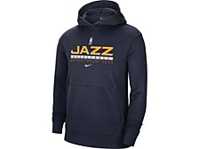 Utah Jazz Men's Spotlight Practice Hoodie