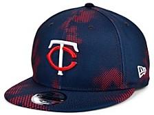 Men's Minnesota Twins Team Fleck 9FIFTY Cap