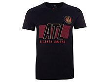 Authentic MLS Apparel Atlanta United FC Men's Iconic Cotton Speed Slant T-Shirt