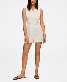 Wrap Short Jumpsuit